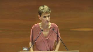 María Chivite, presidenta de Navarra con mayoría simple