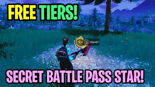 "'NEW' SECRET BATTLE PASS STAR! - Fortnite Saison 4 Comment ""TIER/RANK UP FAST"" Fornite Saison 4 TIPS"