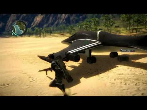 Just Cause 2: New 'Black Market Aerial' DLC gameplay |