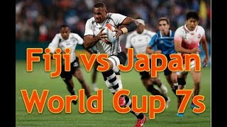 Fiji vs Japan World Cup Rugby Sevens   how Fiji beat the hardworking Japaneisi Rugby 7s Team