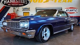 1964 Chevrolet Impala w/ 454ci big block, Tremec 6-speed transmission for sale - Hanksters
