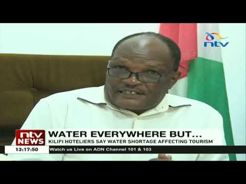 Kilifi hoteliers say water shortage affecting tourism