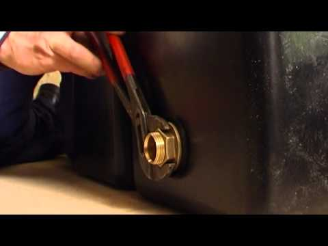 How to install Polytank cold water storage tank
