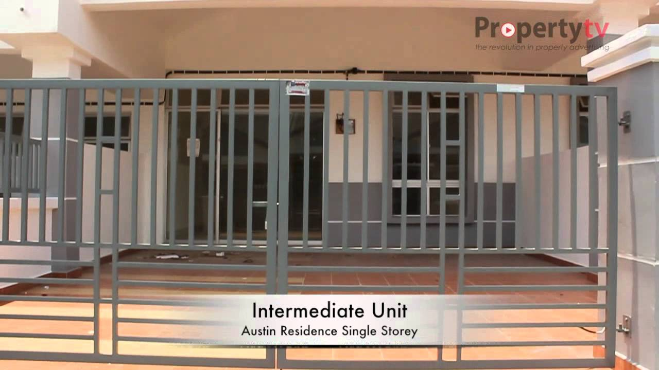austin residence single storey terrace taman mount