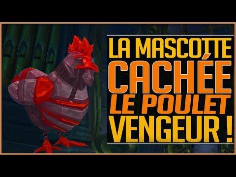 LA MASCOTTE CACHEE LE POULET VENGEUR