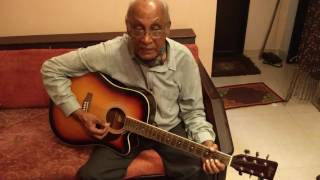 SHOLAY TITLE THEME / ORIGINAL GUITAR PLAYED BY BHANU DA - 1975 / FROM R D BURMAN'S TEAM