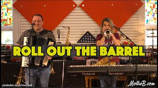 """Beer Barrel Polka by Mollie B & Ted Lange (Home Session #24) """"Roll Out The Barrel"""""""