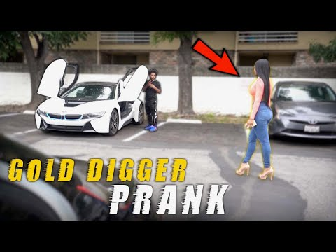 BEST GOLD DIGGER P.R.A.N.K ON INSTAGRAM MODEL (she said I was a baby)
