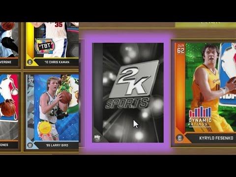 NBA 2K16 PS4 My Team - Pack Simulator!
