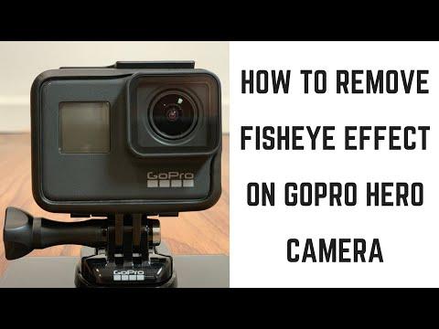 How To Remove Fisheye Effect On GoPro Hero Camera