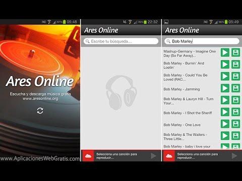 Como Descargar Musica Gratis En Android - App (Ares Online) + Alternativa