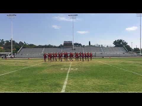 2017-2018 VHS Dance Drill Team Homecoming Rally Routine