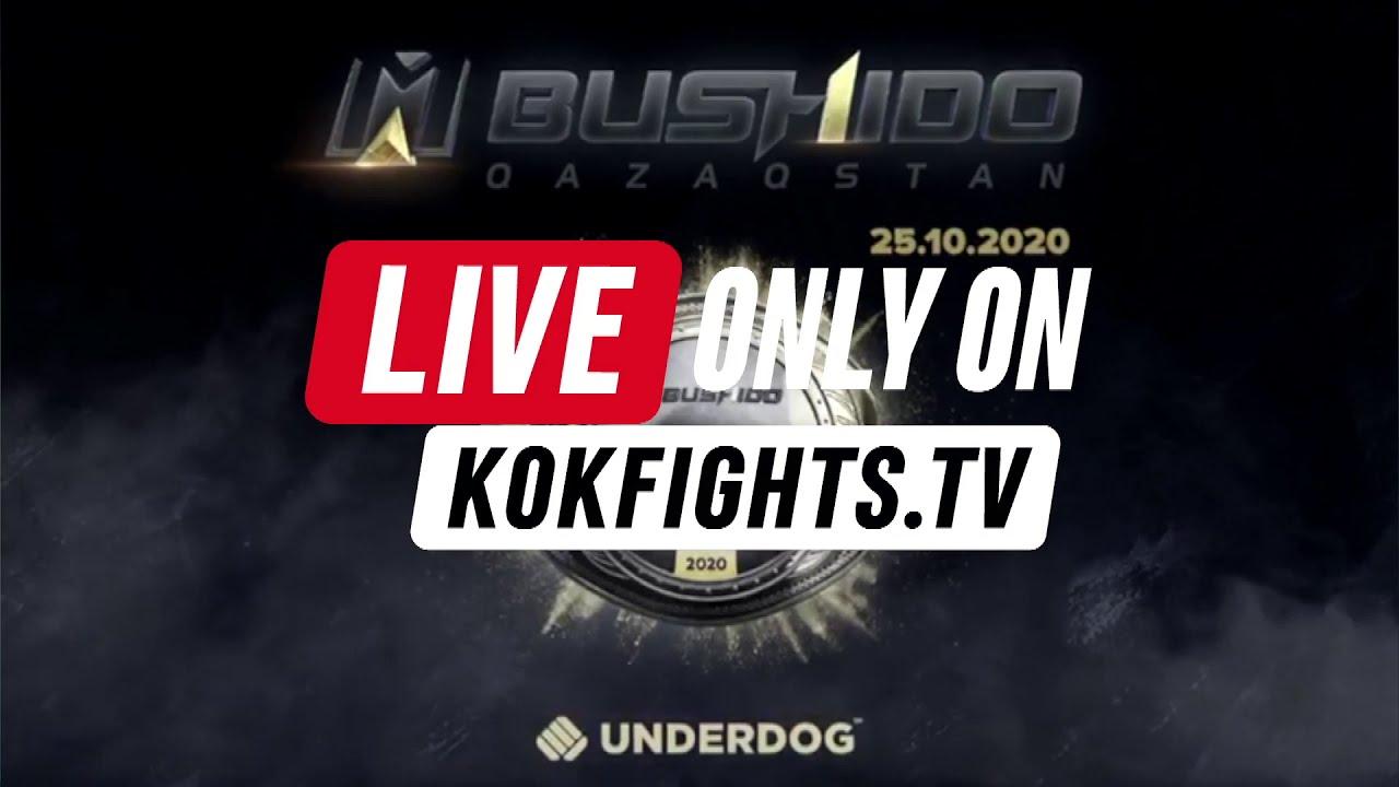 KOK & MMA BUSHIDO TODAY WATCH LIVE ONLY ON KOKFIGHTS.TV