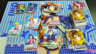 Weiß Schwarz Love Live Volume 2 Booster Box Unboxing (First Half)
