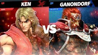 たまもケン対ガノンドロフ【 KEN vs GANONDORF】