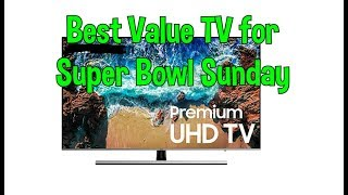 What is the Best Value 4K LED LCD TV for Super Bowl According to TV install Tech