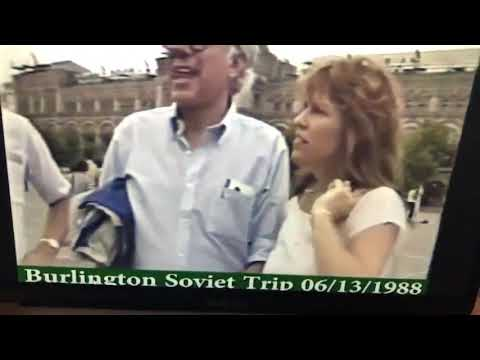 """Bernie Sanders Drunk Singing """"This Land Is Your Land"""" With A Group Of Presumed Soviets"""