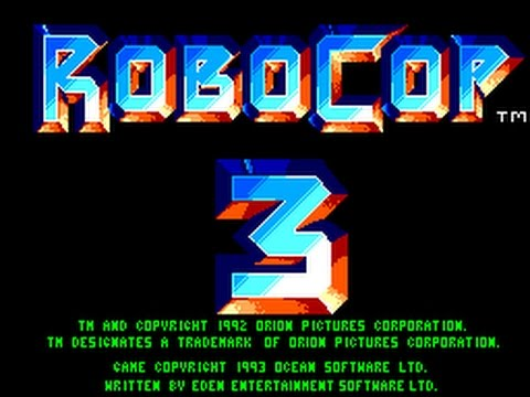 Master System Longplay [175] RoboCop 3