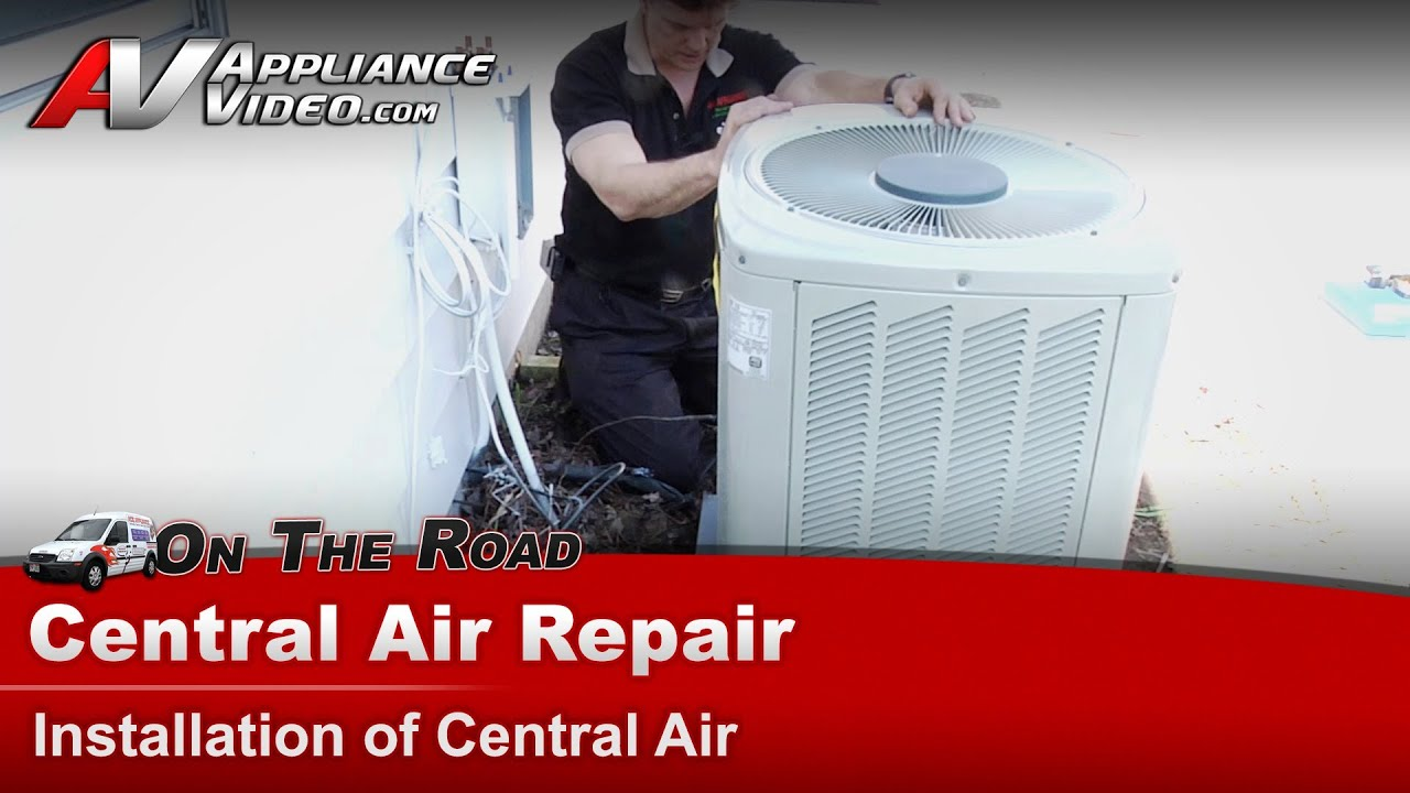 #B90203 Central Air Conditioner Repair Installing A Central Air  Reliable 13768 Replacing Central Air Conditioner wallpaper with 1920x1080 px on helpvideos.info - Air Conditioners, Air Coolers and more