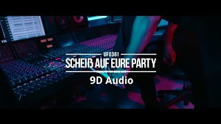 [9D Audio]  Ufo361 - Scheiß auf eure Party             |*EARPHONES*