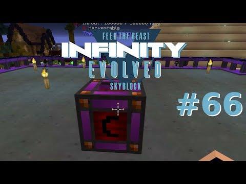 Creative Energy Cell Achievement & Update - Minecraft FTB Infinity Evolved Skyblock #66