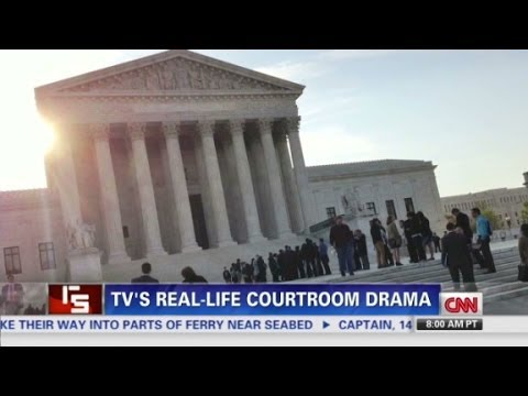 TV's reallife courtroom drama in the Supreme Court
