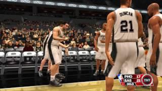 NBA 08 Games of The Week Phoenix Suns vs San Antonio Spurs