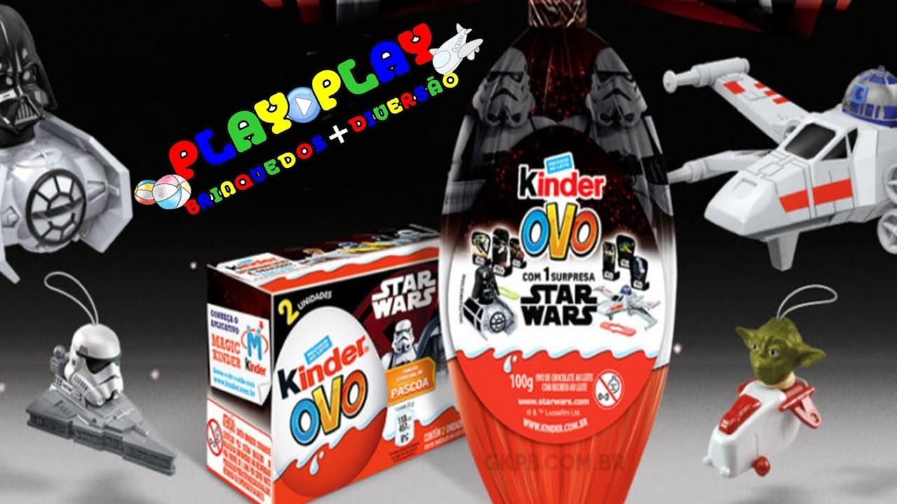 ovo de p scoa kinder ovo star wars play play youtube. Black Bedroom Furniture Sets. Home Design Ideas