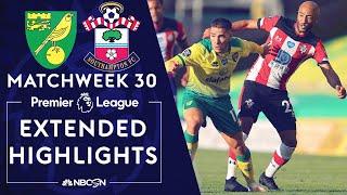 Norwich City V. Southampton | Premier League Highlights | 6/19/2020 | Nbc Sports