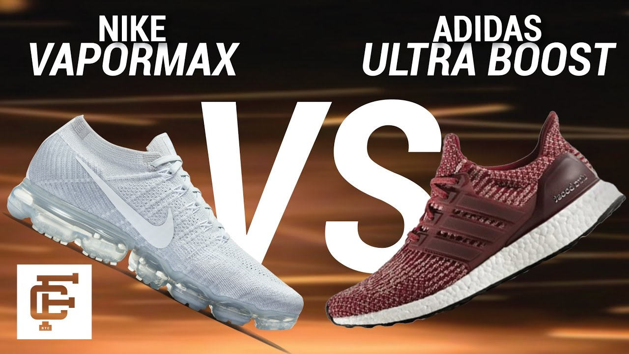 best cheap 99d35 20ce6 NIKE VAPORMAX VS ADIDAS ULTRA BOOST