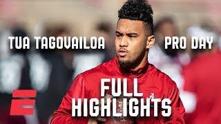 Tua Tagovailoa Pro Day Highlights | NFL Draft 2020