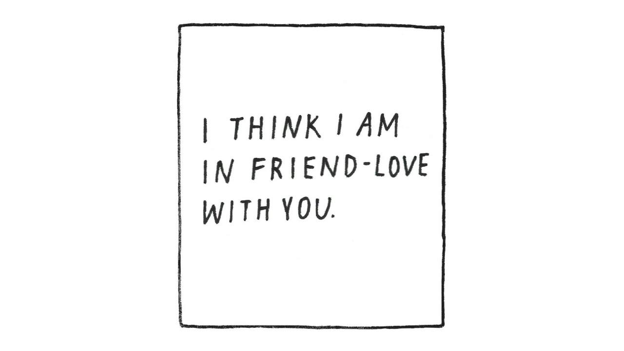 """I Think I Am In Friend-Love With You"" by Yumi Sakugawa ..."