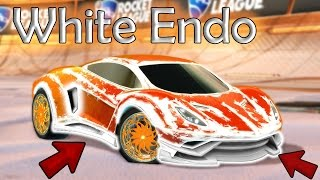 RAREST IMPORT BODY IN ROCKET LEAGUE! TITANIUM WHITE ENDO SHOWCASE