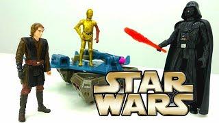 Звездные ВОЙНЫ. Скайуокер против Дарт Вейдер! StarWars