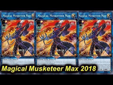 【YGOPRO】MAGICAL MUSKETEER MAX DECK 2018