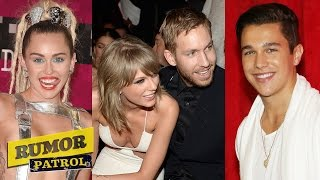 "Miley Cyrus Self-Mutilation? Taylor & Calvin ""Steamy"" Photo? Austin Mahone New GF? RUMOR PATROL"