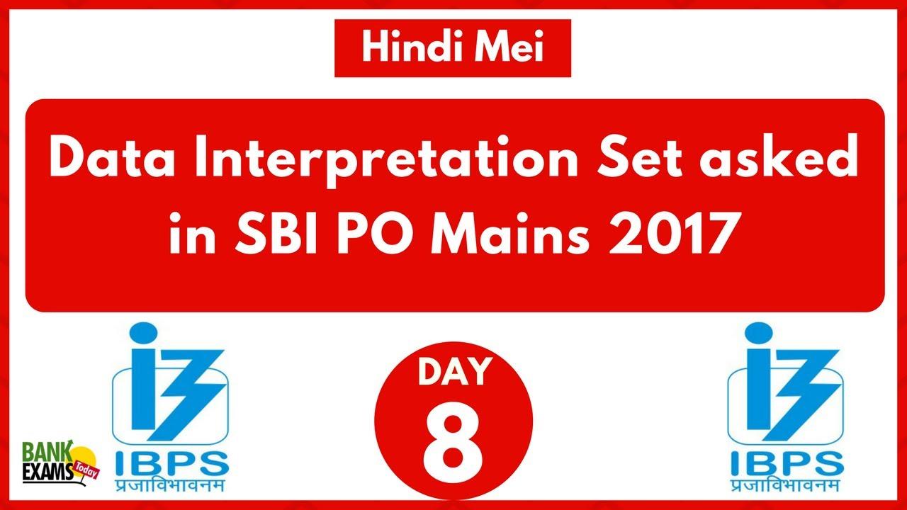Data interpretation questions asked in sbi po mains 2017 youtube data interpretation questions asked in sbi po mains 2017 fandeluxe Gallery
