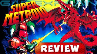 Reevaluating Super Metroid Before Dread - RETRO REVIEW (Video Game Video Review)