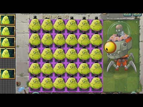 Plants vs Zombies 2 Hack - Apisonaflor vs Los Zombots