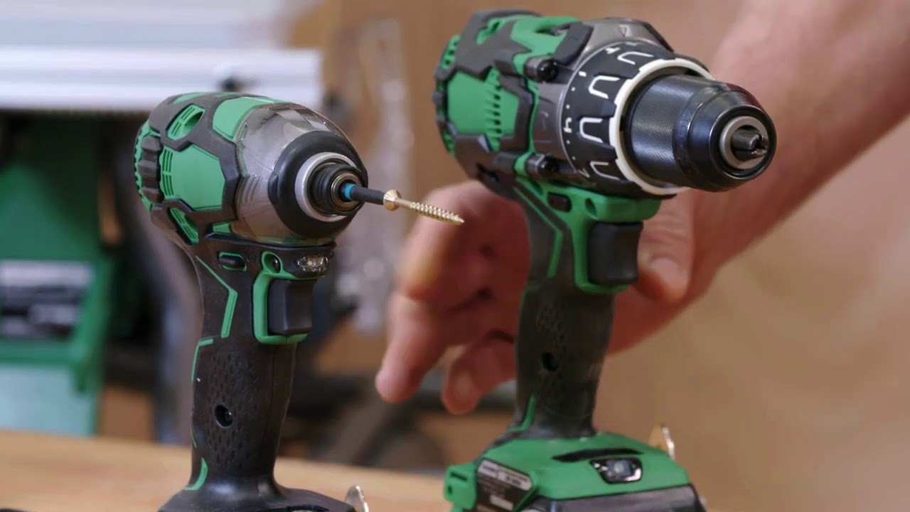 How to Choose and Use a Drill and Impact Driver | Mitre 10 Easy As DIY -  YouTube