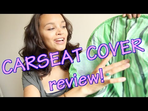 Sun and Bug Carseat Cover (Cozy Cover) Review!