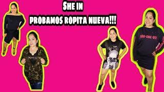 "Haul ""she in"" nos probamos ropa nueva!!"