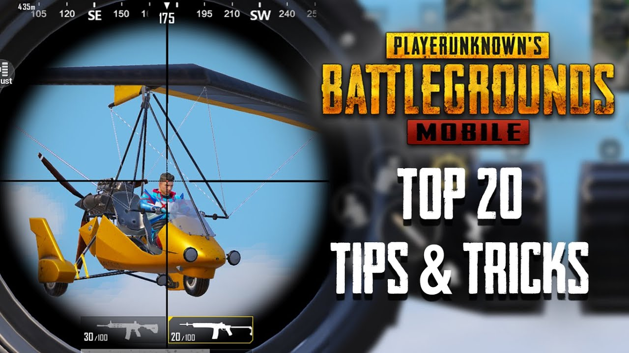 Top 20 Tips & Tricks in PUBG Mobile | BGMI | Ultimate Guide To Become a Pro #19