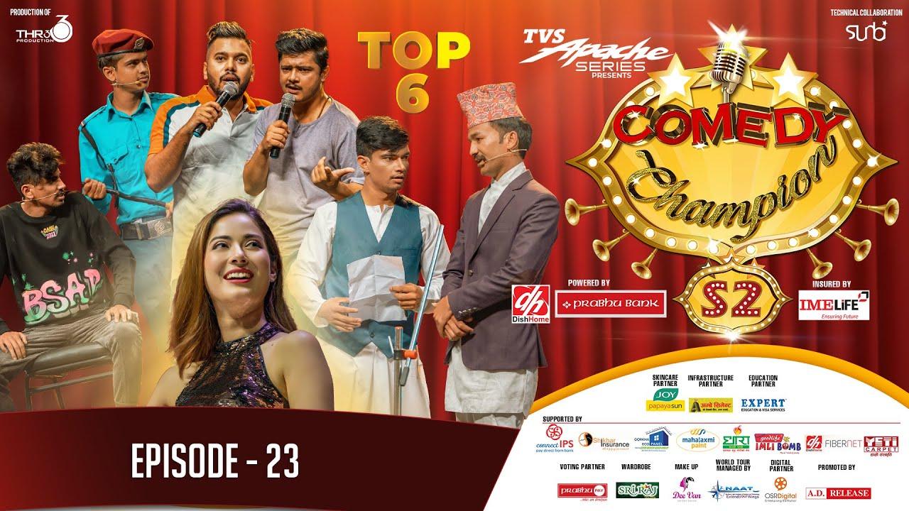 Download Comedy Champion Season 2 - TOP 6 - Episode 23