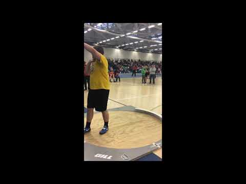 Bryce Monroe Throwing for Burris Laboratory School