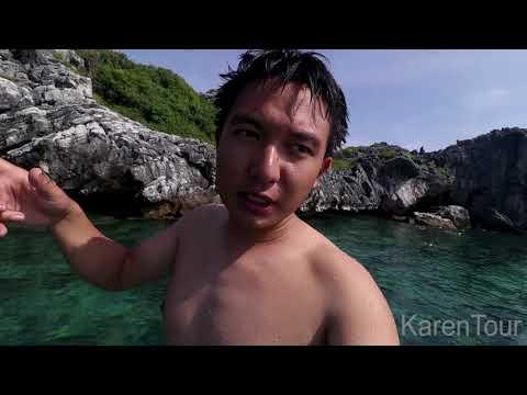 Mu Ko Angthong National Marine Park vlog by Karenyourstory