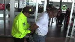 Capturan en aeropuerto de Bogot a dominicano requerido por Interpol