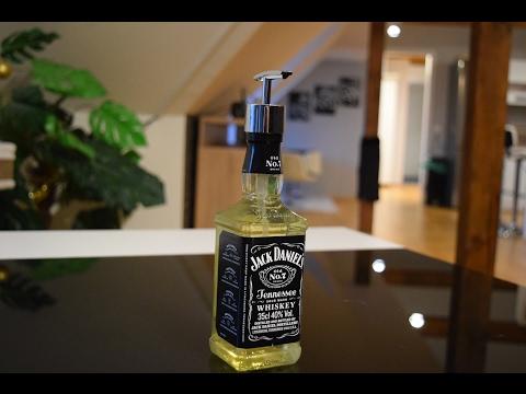 jack daniel 39 s soap dispenser doovi. Black Bedroom Furniture Sets. Home Design Ideas