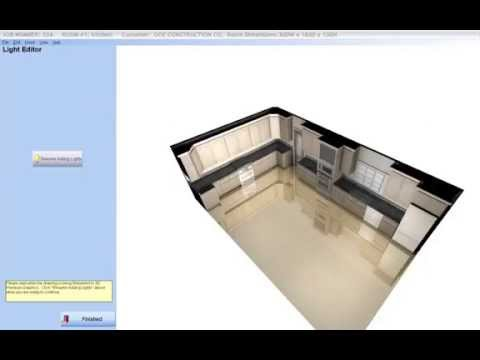 Cabinet Pro Software: Lighting Effects And Cabinet Prou0027s 3D Rendering