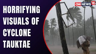 House Collapses Into The Sea In Kasargod | Devastating Visuals From Kerala | Cyclone Tauktae
